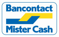 Betaal via Bankcontact of Mistercash