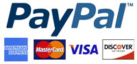 Betaal via Creditcard of Paypal